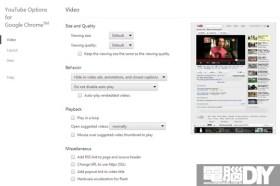 Chrome瀏覽器外掛YouTube Options