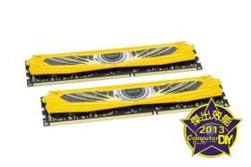 超頻狂獸怒出閘 雄軀盡披黃金甲Apacer ARMOR Series DDR3-2133 8GB KIT記憶體