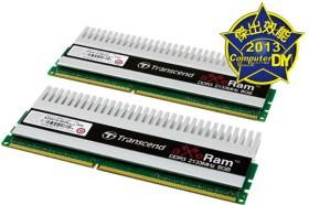 戰斧既出 誰與爭鋒Transcend aXeRam Series DDR3 16GB KIT記憶體
