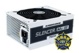 酷冷寧靜 能量魔方PC Power & Cooling Silencer MKIII 750W 電源供應器