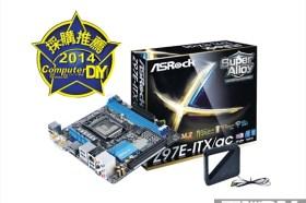 介面豐富 以小搏大 ASRock Z97E-ITX/ac主機板