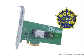 PCI-Express極速傳說 PLEXTOR M6e 256GB 固態硬碟