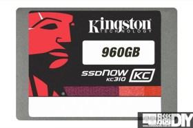 Kingston推出960GB大容量商務級固態硬碟