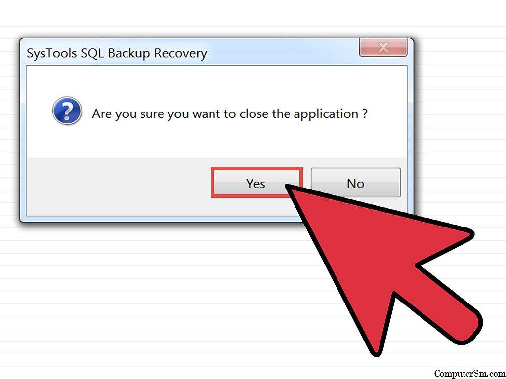 Cara Membuka File Bak