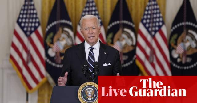 Biden endorses Covid booster shots as 'best way to protect ourselves from new variants' – live