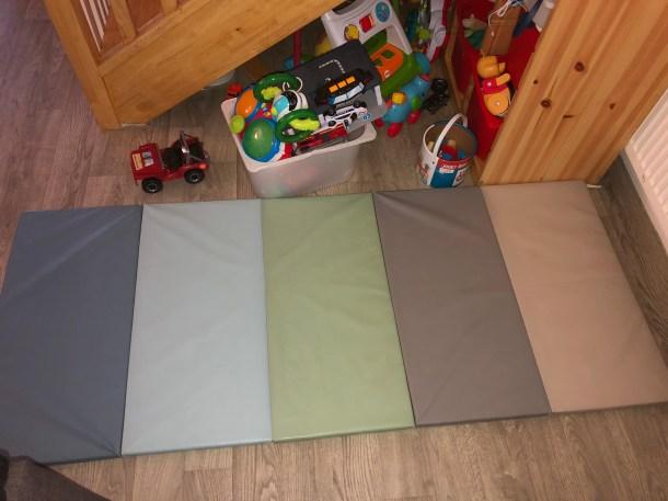 tapis de gymnastique plufsig