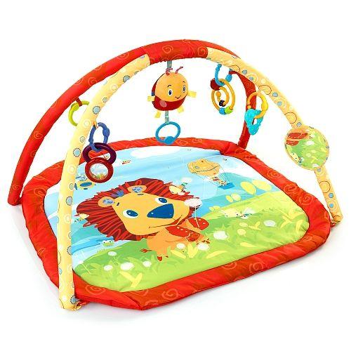 tapis d eveil lion