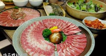 台中燒肉‖雲火日式燒肉超狂新菜單-Prime等級牛肉滿滿一大盤,外加三豬一雞、超大干貝