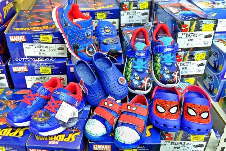 20181109092636 69 - 熱血採訪 NG牛仔帆布鞋55元、卡通兒童拖鞋60元、童鞋換季三雙只要500元!大雅童鞋特賣快來搶便宜