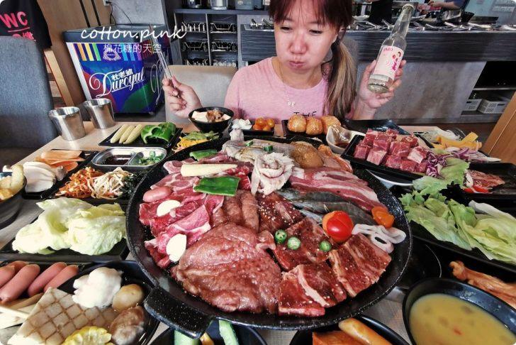 20200106161911 39 - 熱血採訪│肉鮮生MR.M.EAT台中韓式烤肉吃到飽來囉!肉品種類多,滿滿人潮排到門口