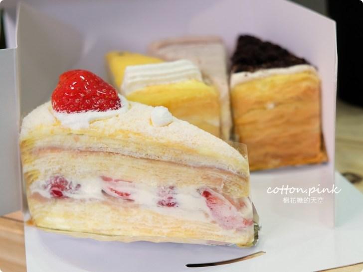 20200128140740 63 - 熱血採訪|兩層綿綿的戚風蛋糕裡面加了一整層的草莓,這也太邪惡了吧!