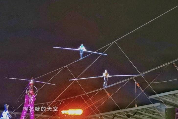 20200210160423 19 - 台灣燈會后里馬場燈區每晚都有高空特技表演~免費入場超好看!