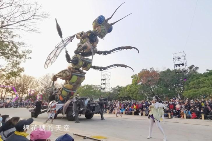 20200211164319 39 - 台灣燈會必看表演-全球首演森林機械巨蟲秀,台灣限定一天只有三場