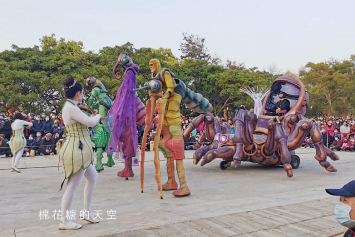 20200211164334 58 - 台灣燈會必看表演-全球首演森林機械巨蟲秀,台灣限定一天只有三場