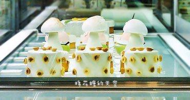 《台中甜點》超夢幻粉紅櫻桃~超多層次的甜點叫人怎麼能不再訪?來CJSJ就是要來一輪阿!