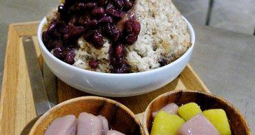 《台中吃冰》超級消暑!神仙草超細緻仙草雪花冰~台式仙草加上日式抹茶,芋圓、地瓜圓也好好吃