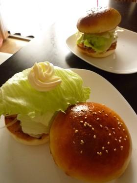 おうちで✿モ○風✿照り焼きチキンバーガー