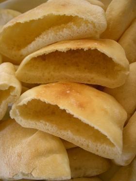 ぷっくり膨らむピタパン