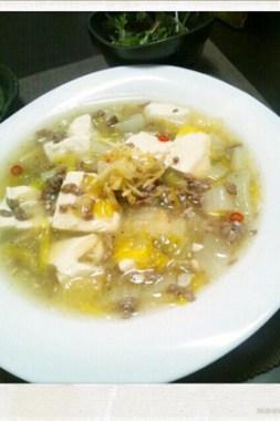 【話題入り】白菜と挽き肉のあんかけ豆腐