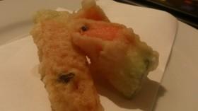 スイカの天ぷら