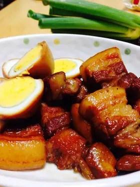 豚の角煮 炊飯器大王 by わっしょい ️ ️ 【クックパッド ...