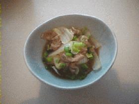 めちゃうま♪白菜のカラシ醤油煮