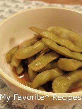 懐かしい母の味♪枝豆の甘辛煮