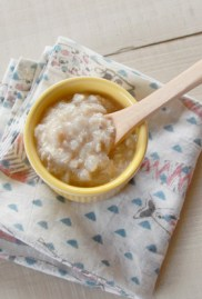 【離乳食中期】魚と里芋の和風みそ煮