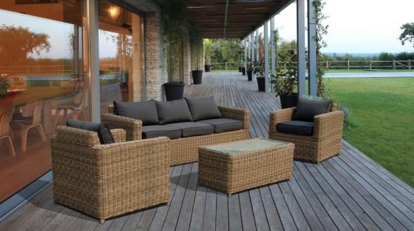 luxury outdoor patio furniture Luxury Rattan Garden Furniture Sofa Set Patio Conservatory