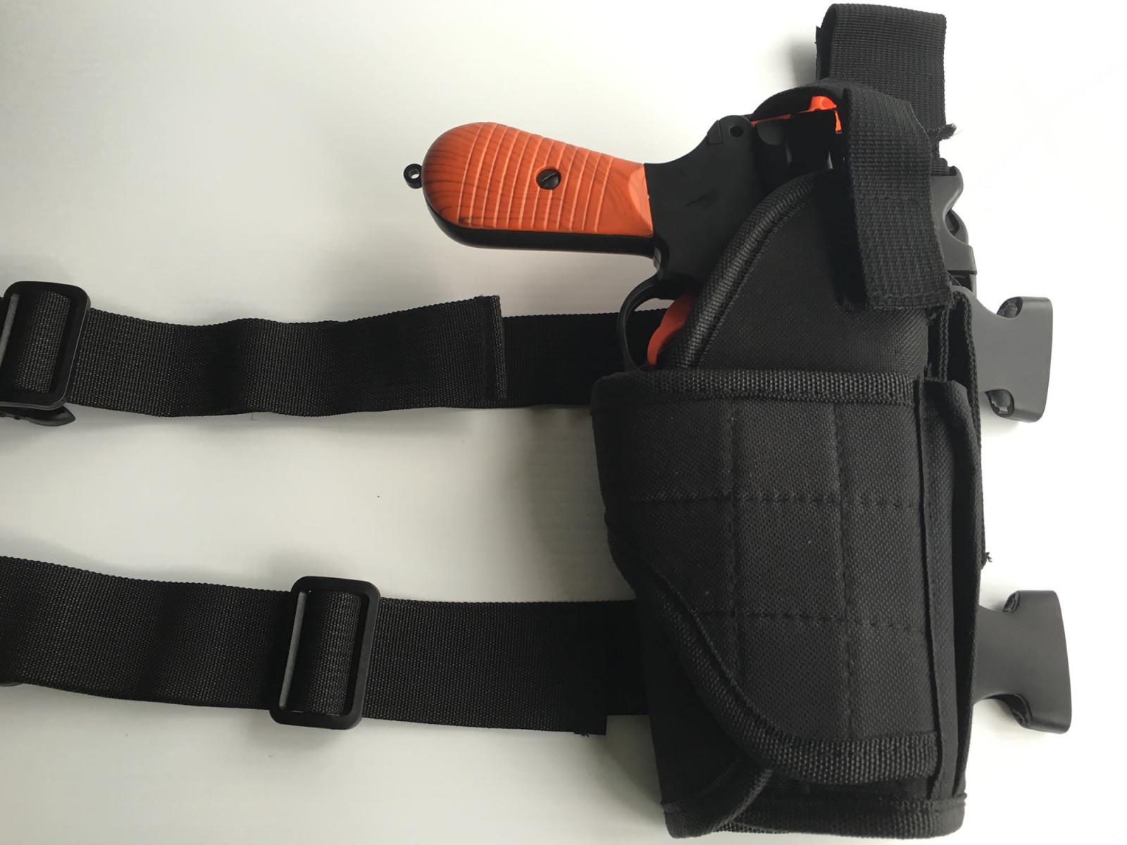 Rubberized Coating Gun Holster