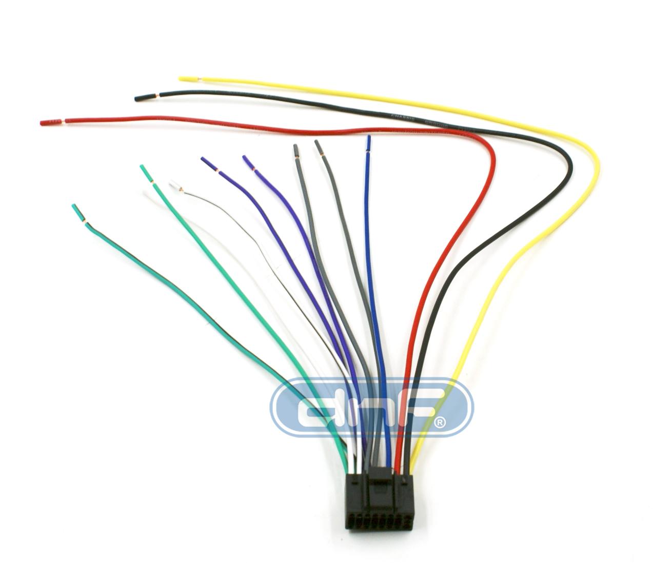 Kenwood Wiring Harness 16 PIN KDC138 KDC215S KDC217  SHIPS FREE TODAY! | eBay
