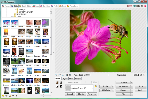 PhotoScape 37 free download Downloads freeware