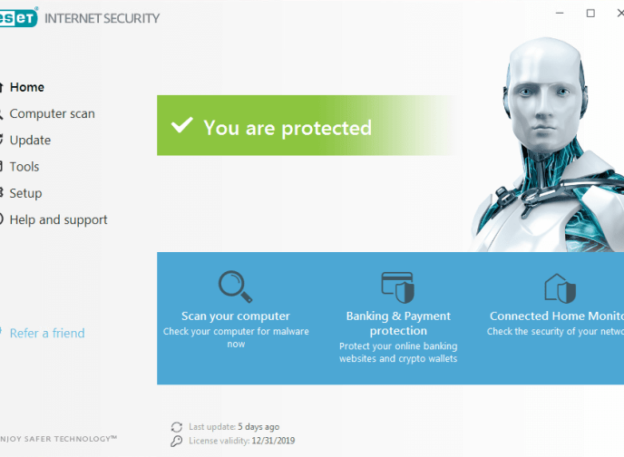 Wynik obrazu programu ESET Internet Security 12.1.34.0