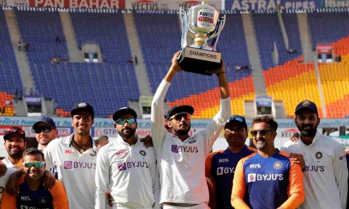 Cricket Image for टीम इंडिया ने किया कमाल,घर में जीती लगातार 13वीं टेस्ट सीरीज