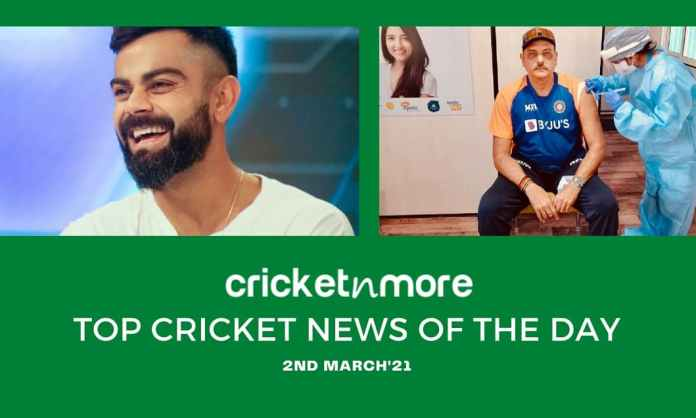 Top Cricket News Of The Day 2nd March