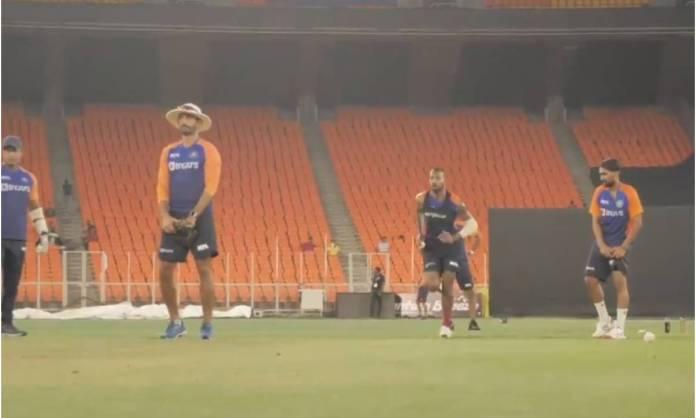 Cricket Image for VIDEO : टीम इंडिया के फैंस के लिए खुशखबरी, टी-20 सीरीज से पहले हार्दिक पांड्या ने