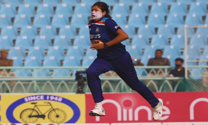 Cricket Image for Jhulan Goswami Shared Feeling Of Getting On The Field After A Long Time