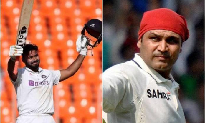 Cricket Image for 'ऋषभ को देखकर लगता है सहवाग बाएं हाथ से खेल रहा है', इंजमाम ने जमकर की भारतीय विके