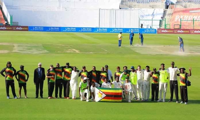 Cricket Image for AFG vs ZIB: पांच दिन के टेस्ट मैच में जिम्बाब्वे को मिली दूसरे दिन जीत