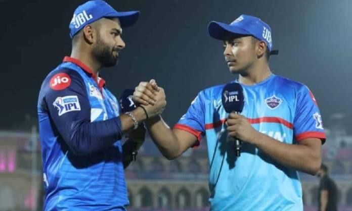 Cricket Image for IPL 2021: पृथ्वी शॉ की तूफानी पारी देखकर बोले ऋषभ पंत, उन पर कॉन्फिडेंस दिखाएं तो