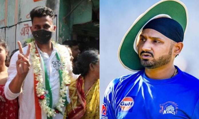 Cricket Image for 'किसी भी बच्चे के साथ ऐसा मत होने देना', हरभजन सिंह ने 'विवादित ट्वीट' कर मनोज तिव