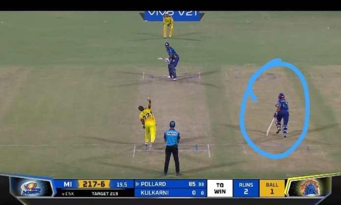 IPL 2021 Brad Hogg raises the 'spirit of the game' question after MI's non-striker takes advantage o