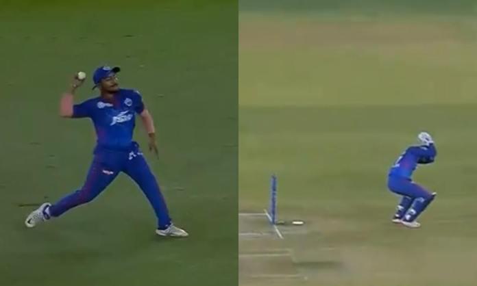 Cricket Image for VIDEO: पृथ्वी शॉ के थ्रो ने ऋषभ पंत को डराया, घुटने पर बैठ गए दिल्ली के कप्तान