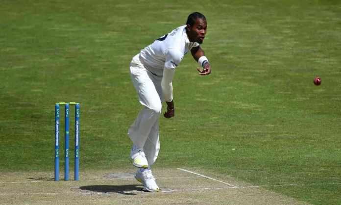 Cricket Image for चोट के बाद जोफ्रा आर्चर ने प्रतिस्पर्धी क्रिकेट में में की वापसी, पहले मैच में झटक