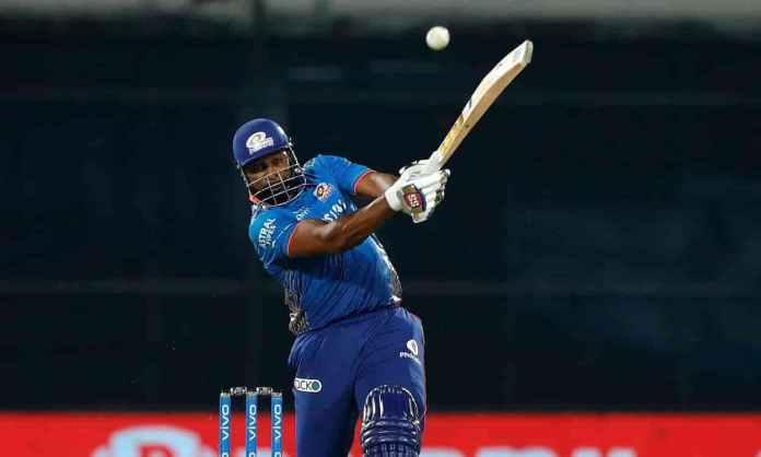 Cricket Image for MI vs CSK: कीरोन पोलार्ड ने ठोका IPL 2021 का सबसे तेज अर्धशतक,की चौकों-छक्कों की ब