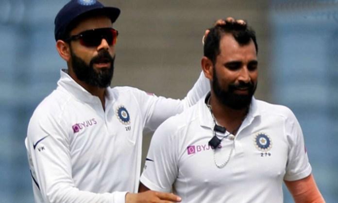 Cricket Image for Mohammed Shami Praise Indian Captain Virat Kohli