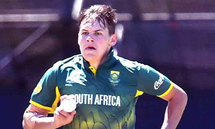 Cricket Image for राजस्थान रॉयल्स ने SA के 20 साल के गेंदबाज को टीम में किया शामिल,टी-20 में लिए हैं