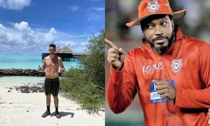 Cricket Image for जब मालदीव में 'शर्टलेस' हुए केविन पीटरसन, तो क्रिस गेल ने कर दिया ज़बरदस्त तरीके स