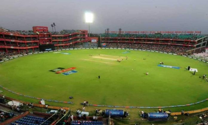 Cricket Image for Delhi Police Arrested Two People Who Entered The Stadium For Betting Purpose