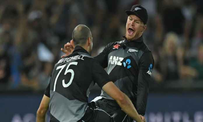 Cricket Image for New Zealand Cricket Signed National Contract With Mitchell And Phillips For The Fi